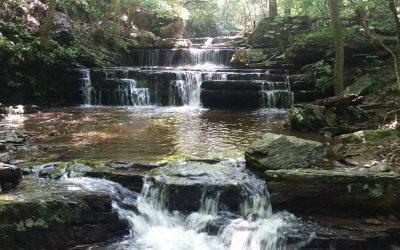 Hike: Cool Spring Waterfall